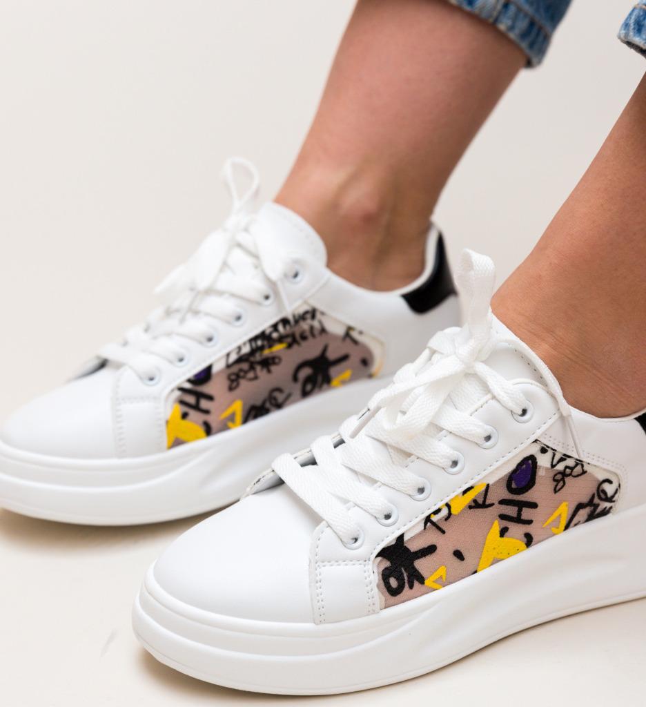 Pantofi Sport Shiral Negri imagine