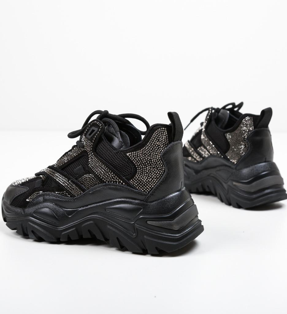 Pantofi Sport Strauso Negri