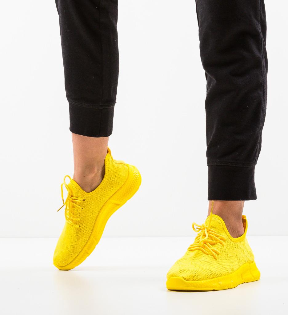 Pantofi Sport Thelma Galbeni