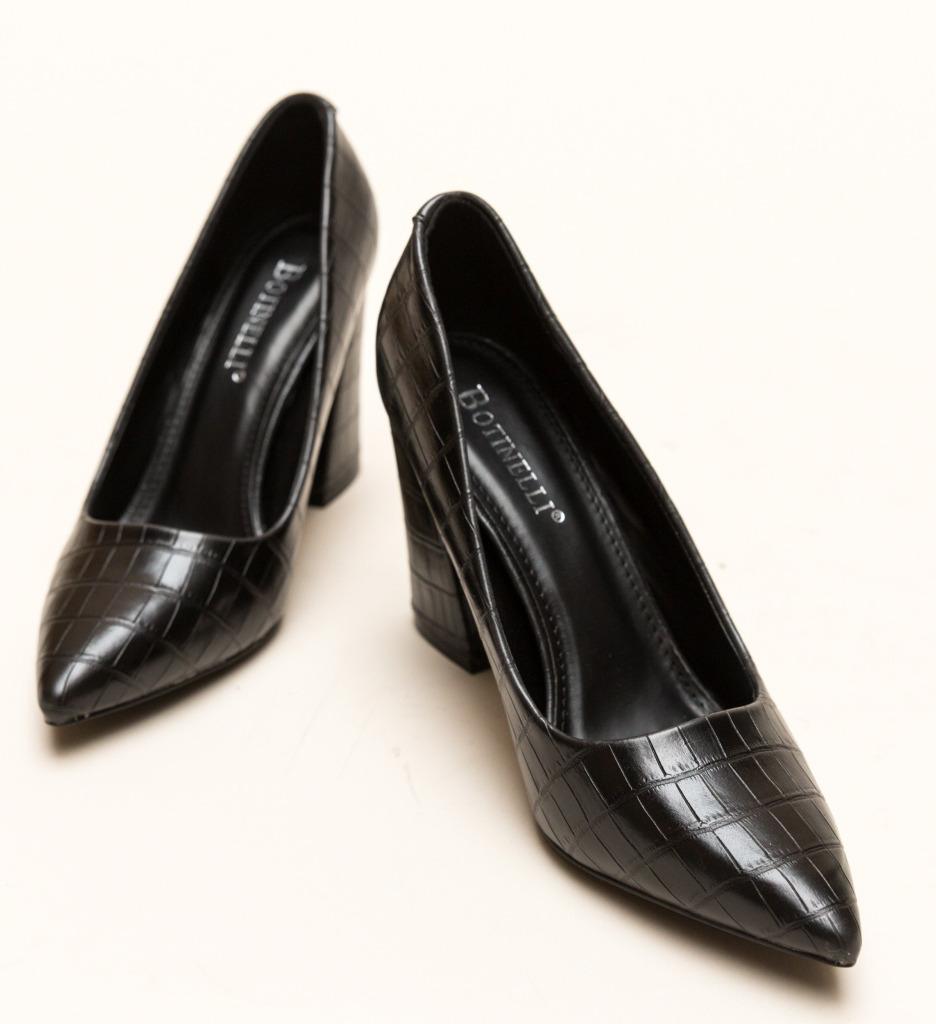 Pantofi Stamley Negri