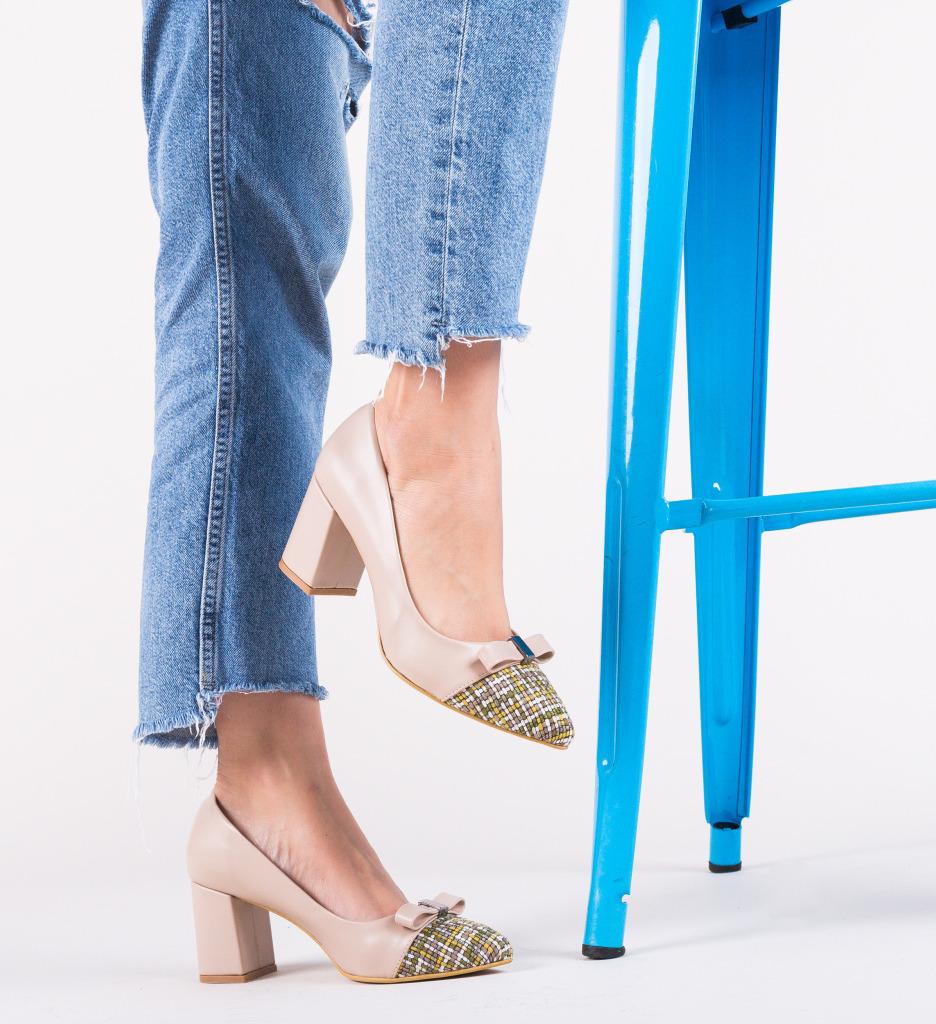 Pantofi Turkay Bej