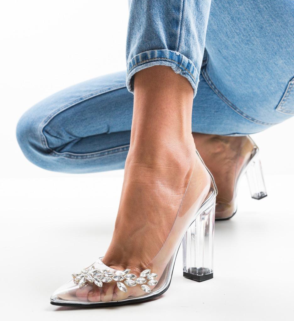 Pantofi Uzeyir Argintii