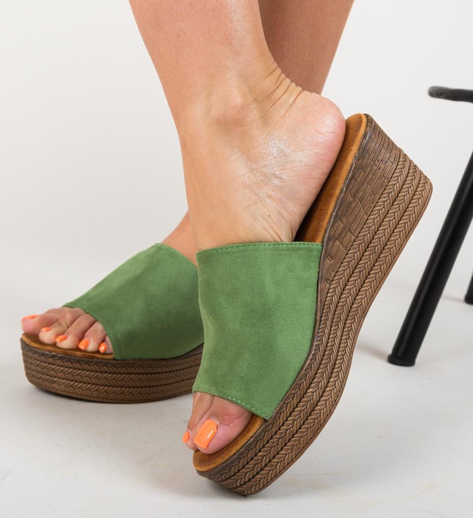 Papuci Nikki Verzi
