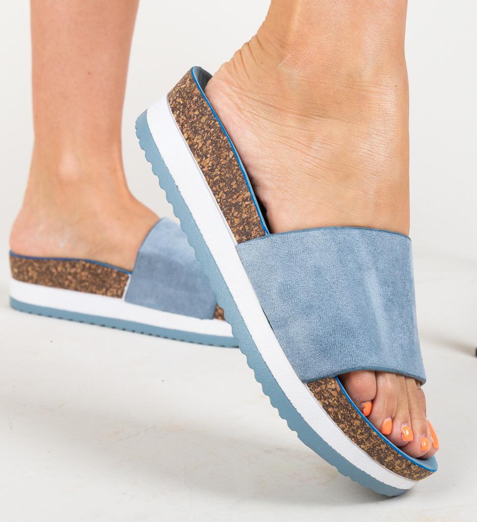 Papuci Stuart Albastri