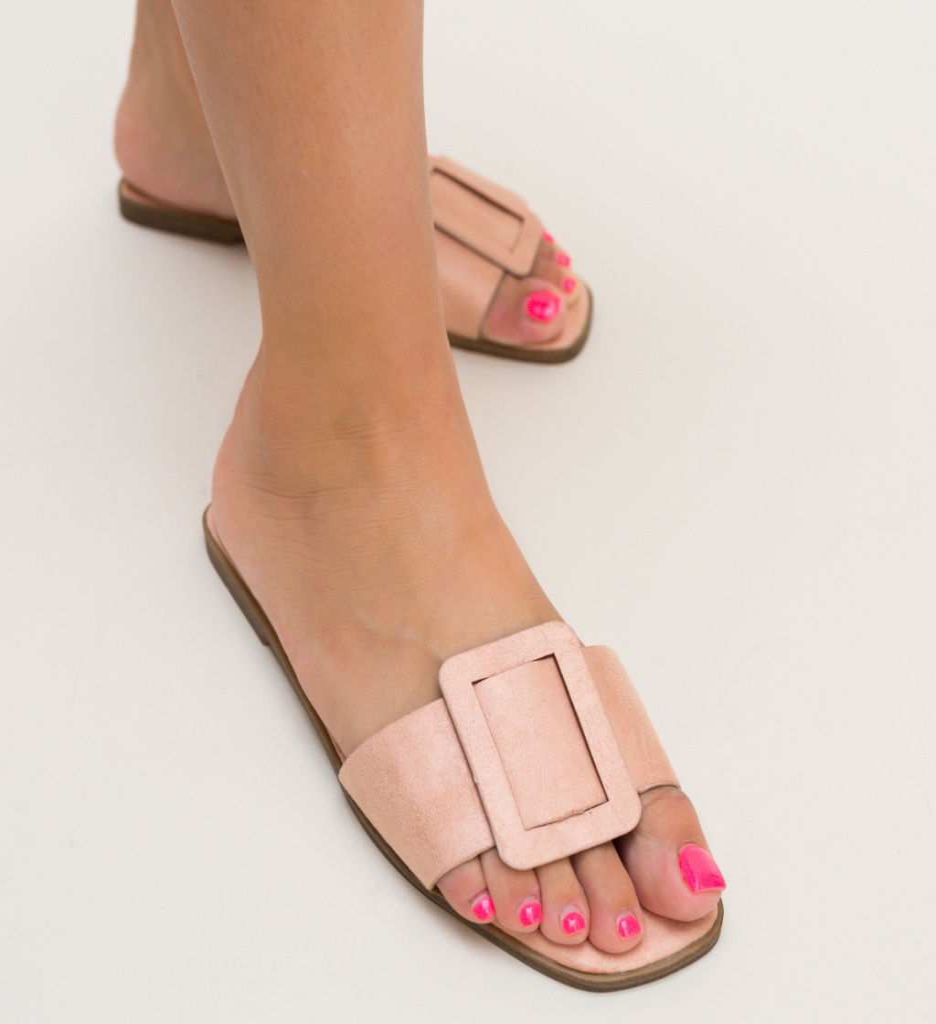 Papuci Trufles Roz imagine