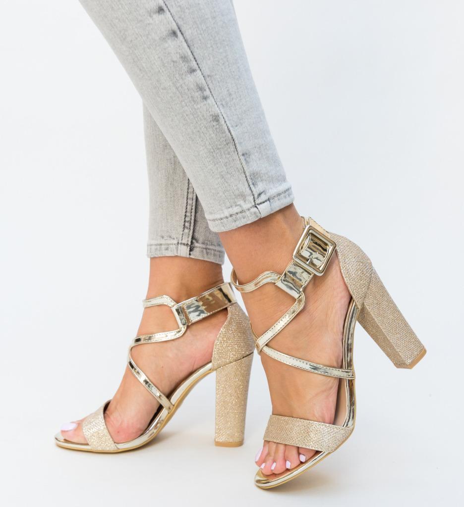 Sandale Bixon Aurii