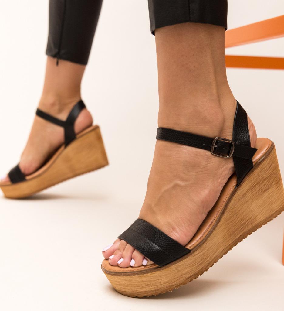 Sandale Briana Negre