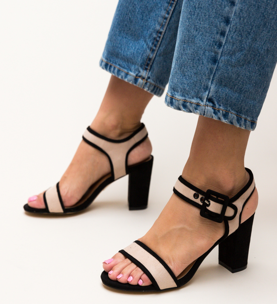 Sandale Clindar Bej