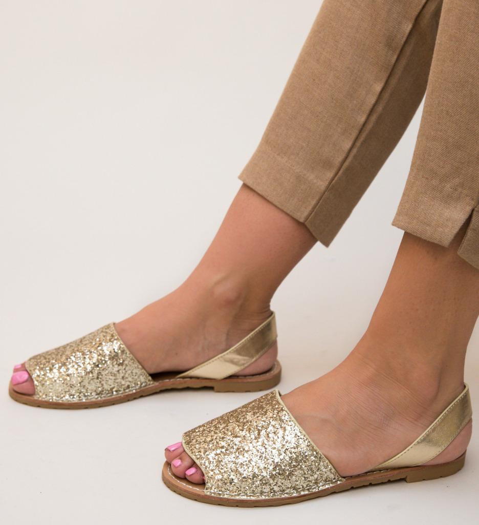 Sandale Crane Aurii