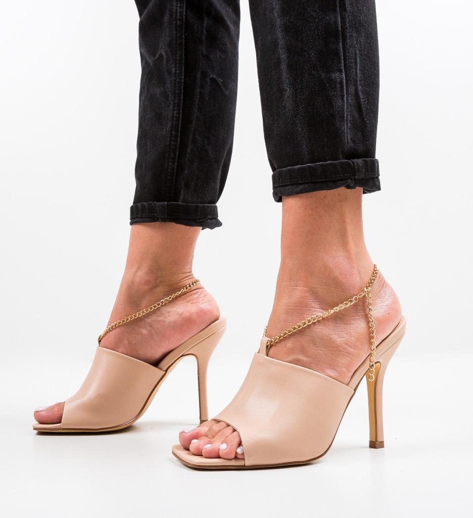Sandale Cristodulo Bej