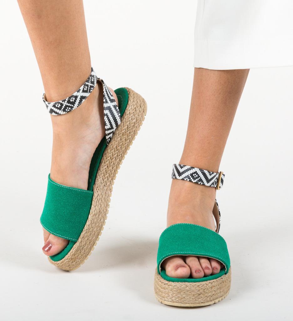 Sandale Folclor Verzi