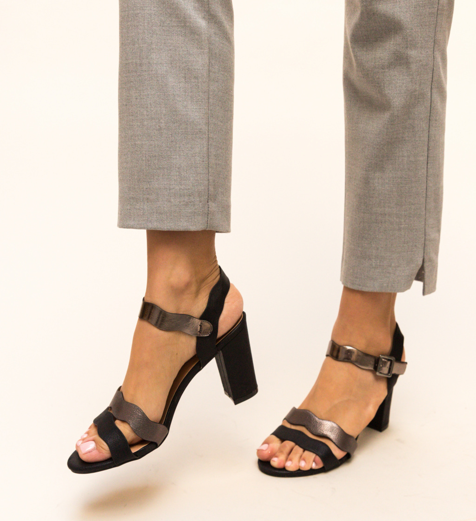 Sandale Measco Negre