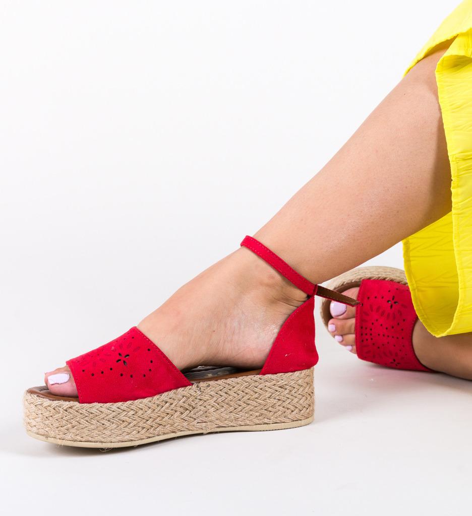 Sandale Milina Rosii