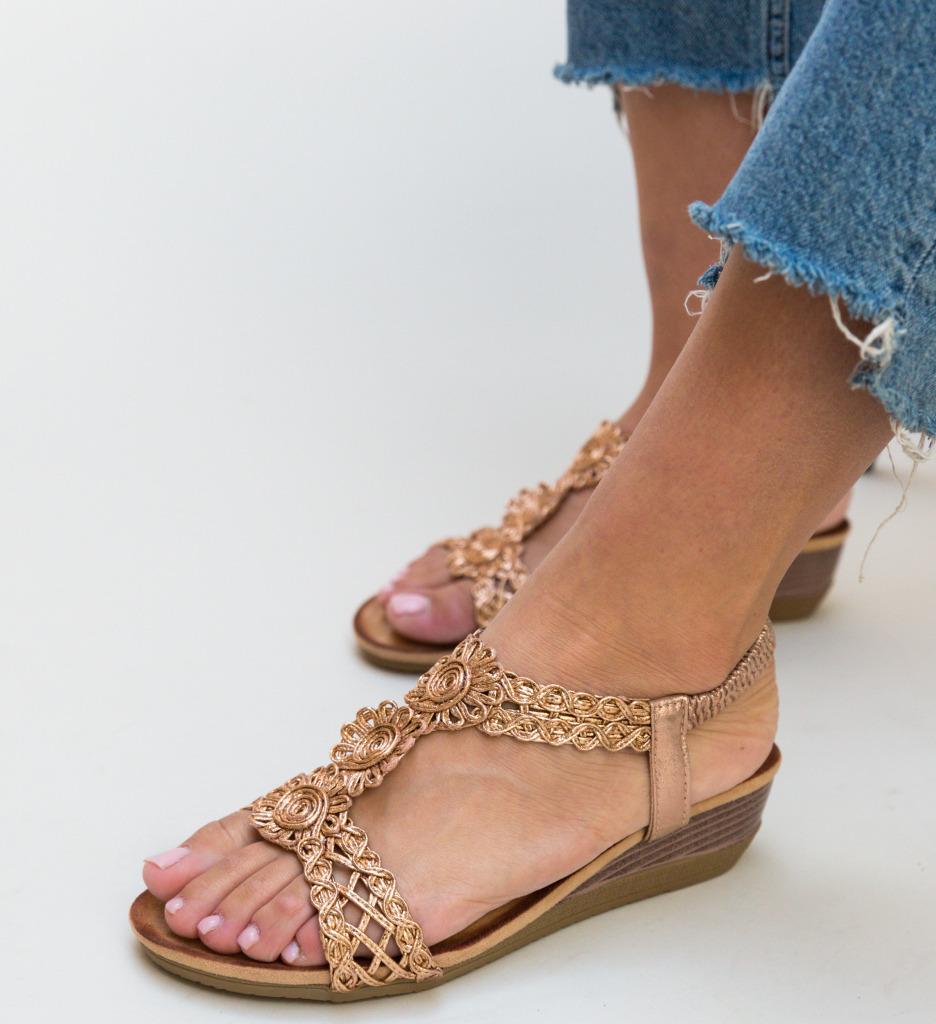 Sandale Munoz Aurii 2