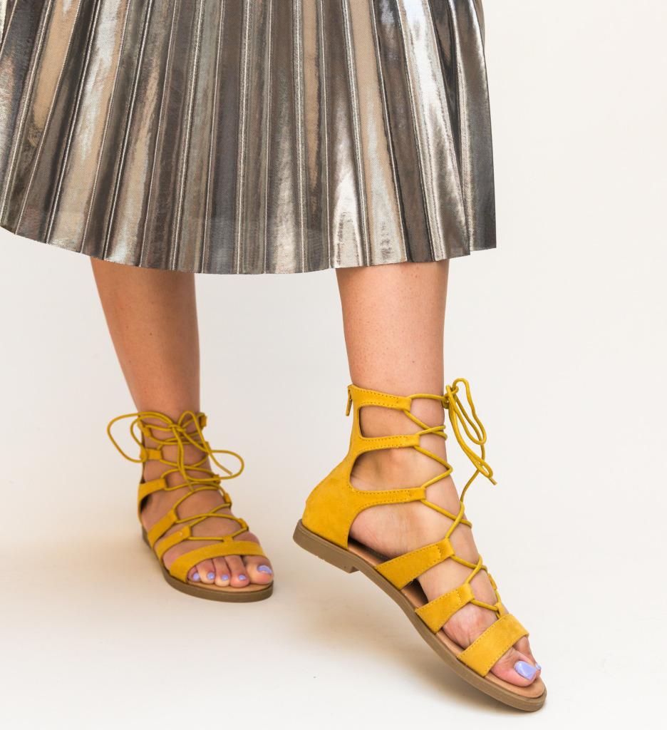 Sandale Pina Galbene