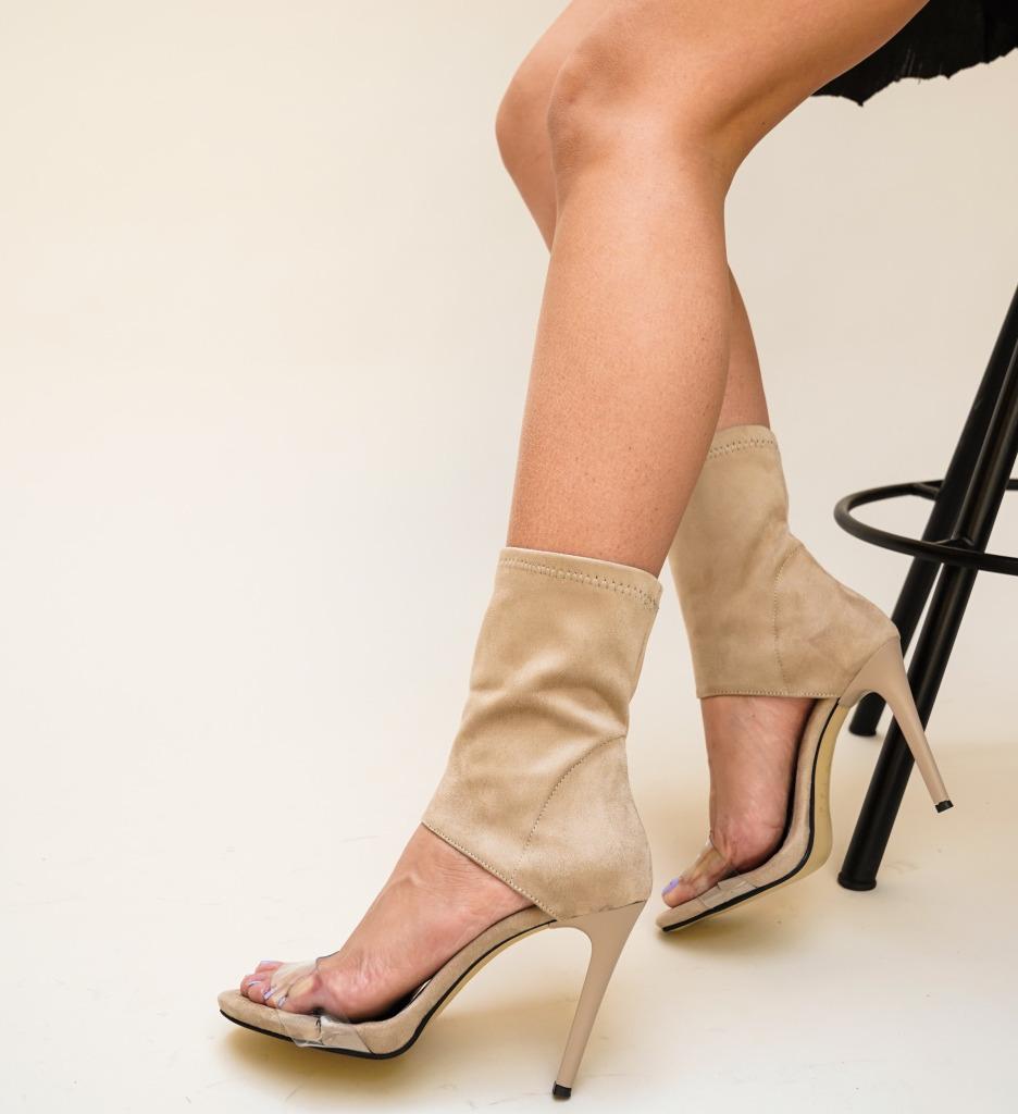 Sandale Promed Bej