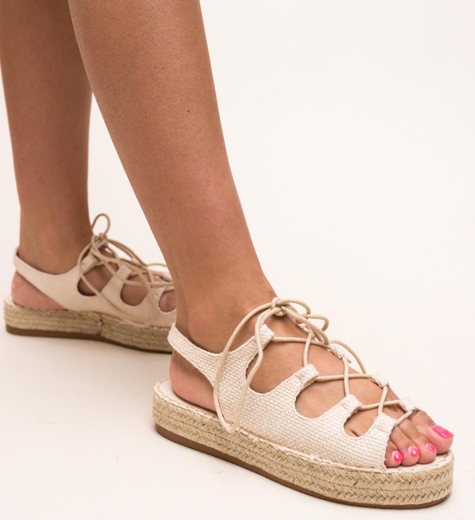 Sandale Sanitiz Bej