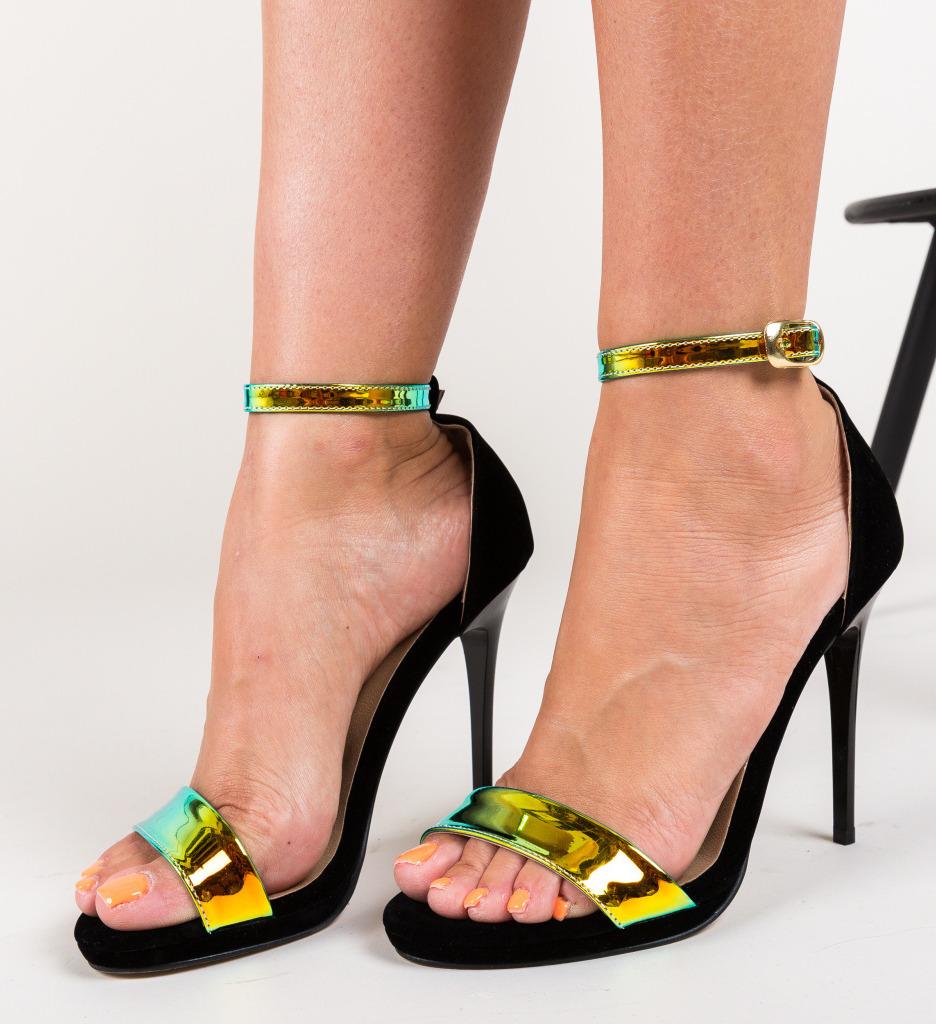 Sandale Solario Negre