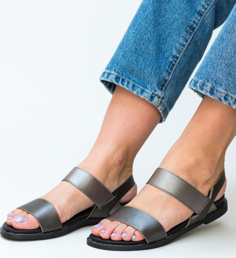 Sandale Temo Gri