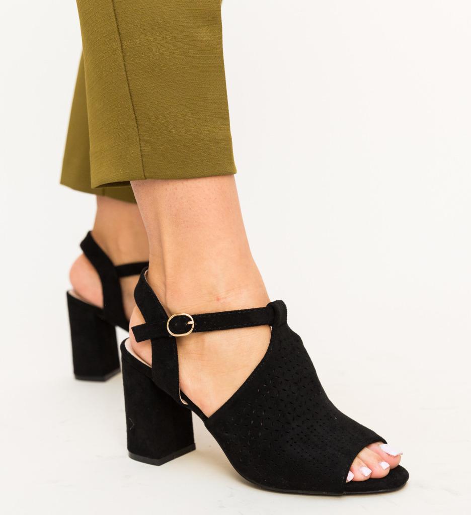 Sandale Zimbro Negre