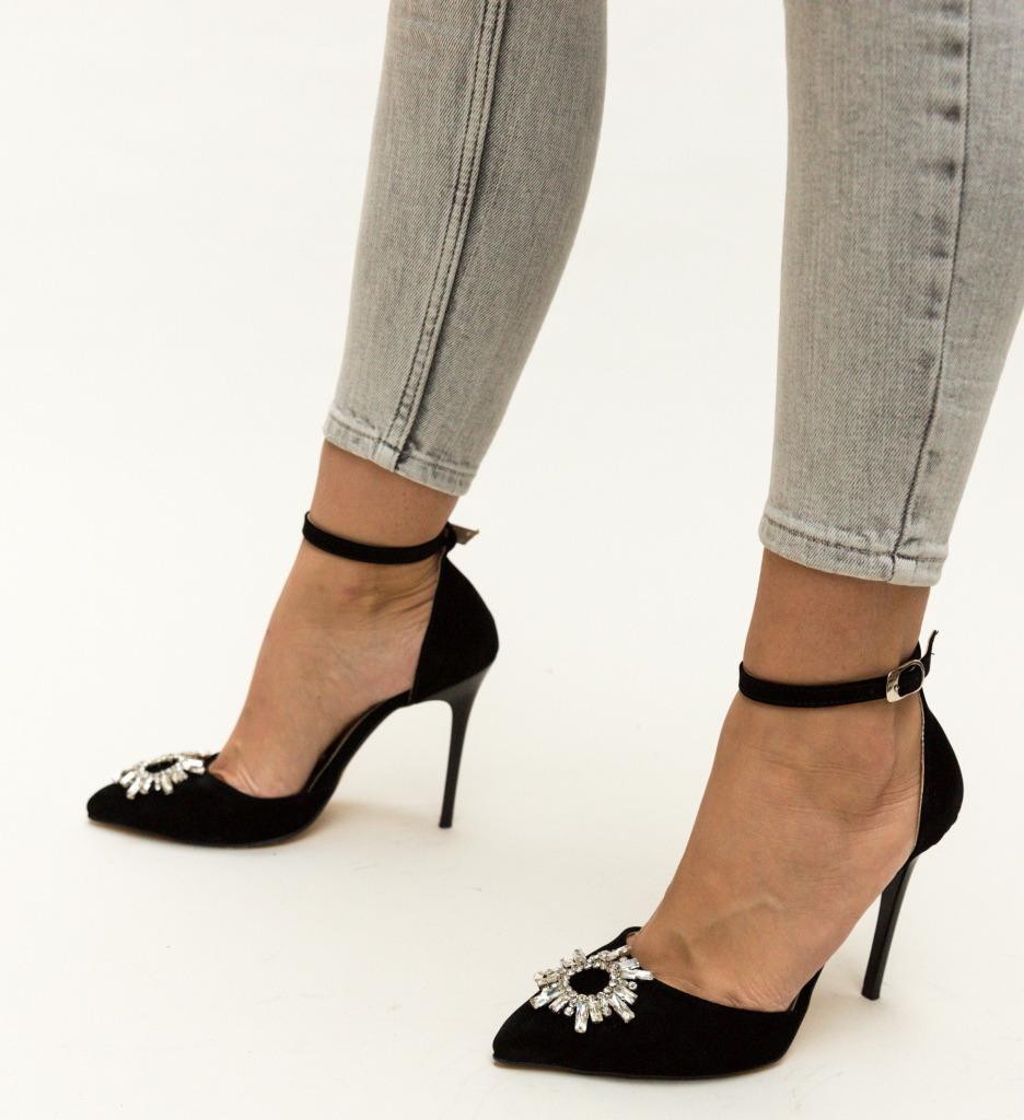 Pantofi Ross Negri