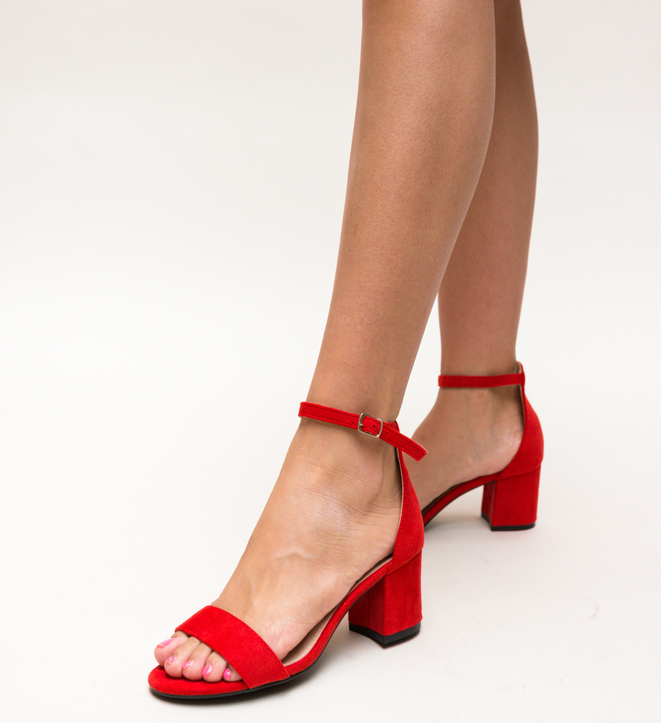 Sandale Vernon Rosii