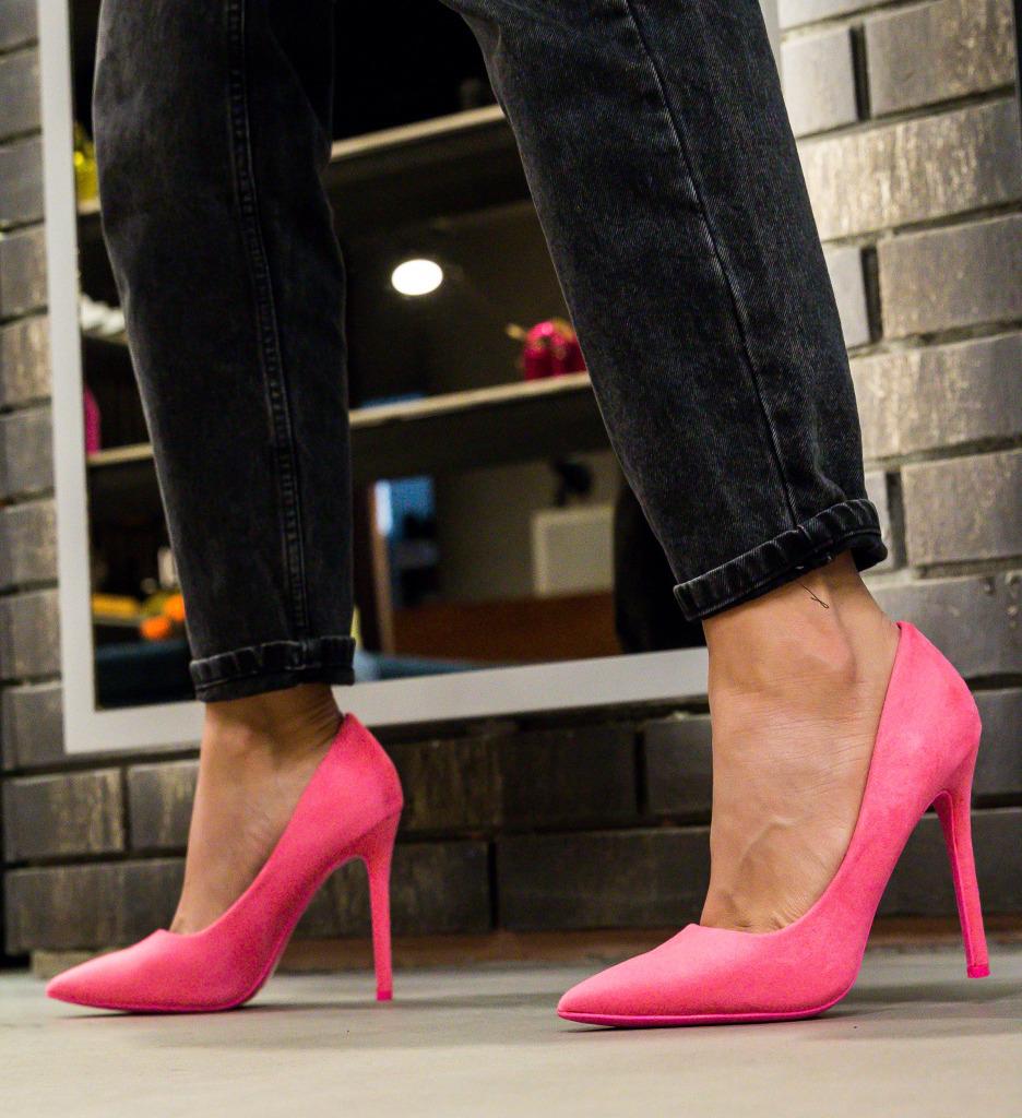 Pantofi Ande Fuchsia