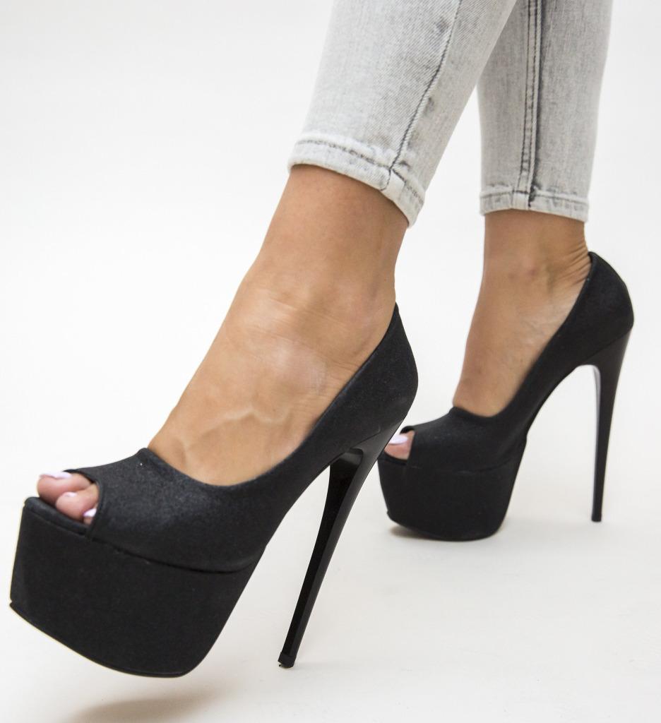 Pantofi Brady Negri 2 imagine