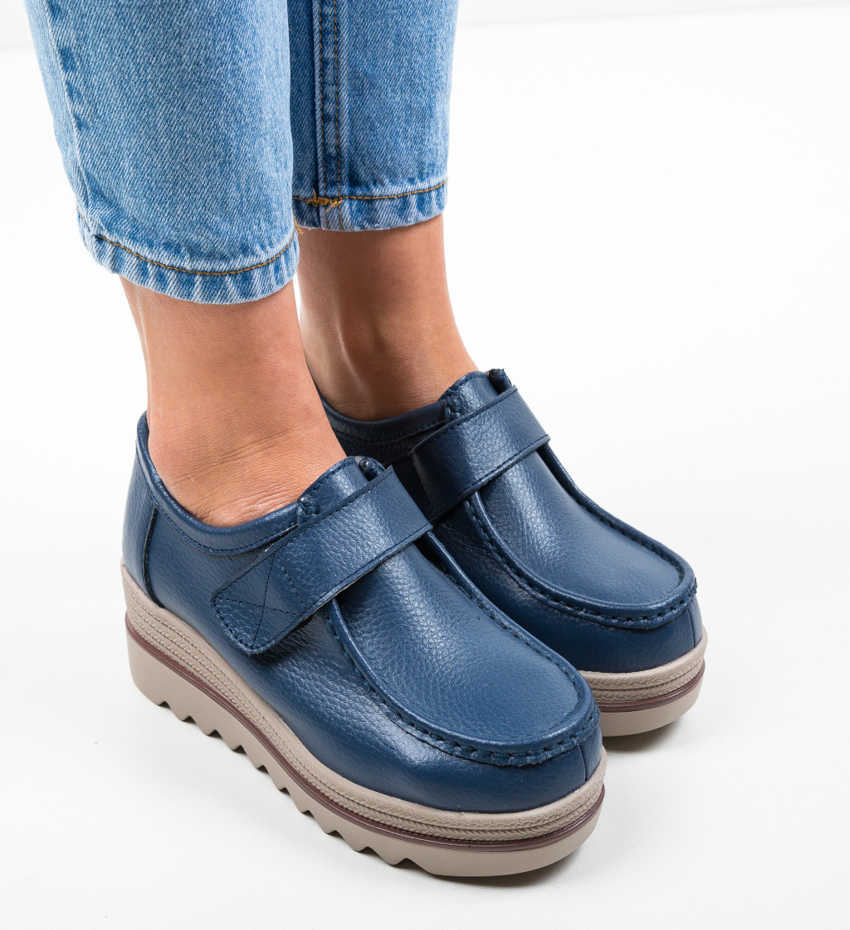 Pantofi Casual Abbi Albastri