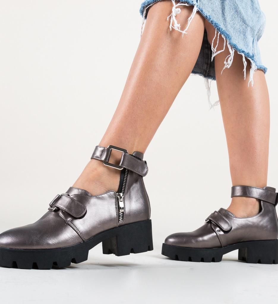 Pantofi Casual Bikol Gri