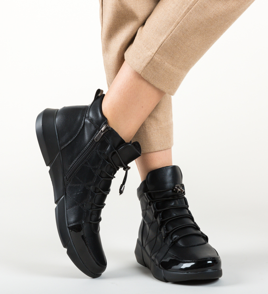 Pantofi Casual Bubico Negri