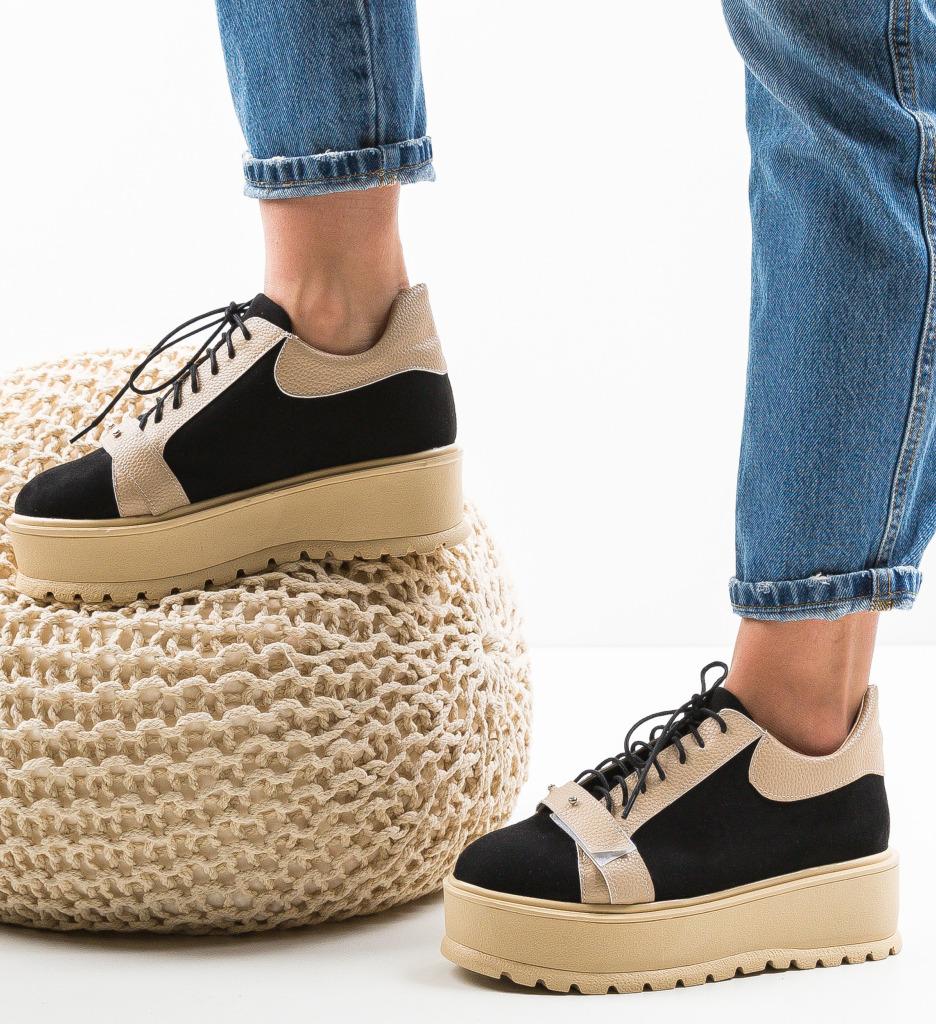 Pantofi Casual Okila Bej