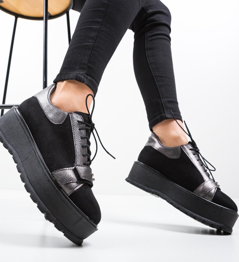 Pantofi Casual Okila Gri