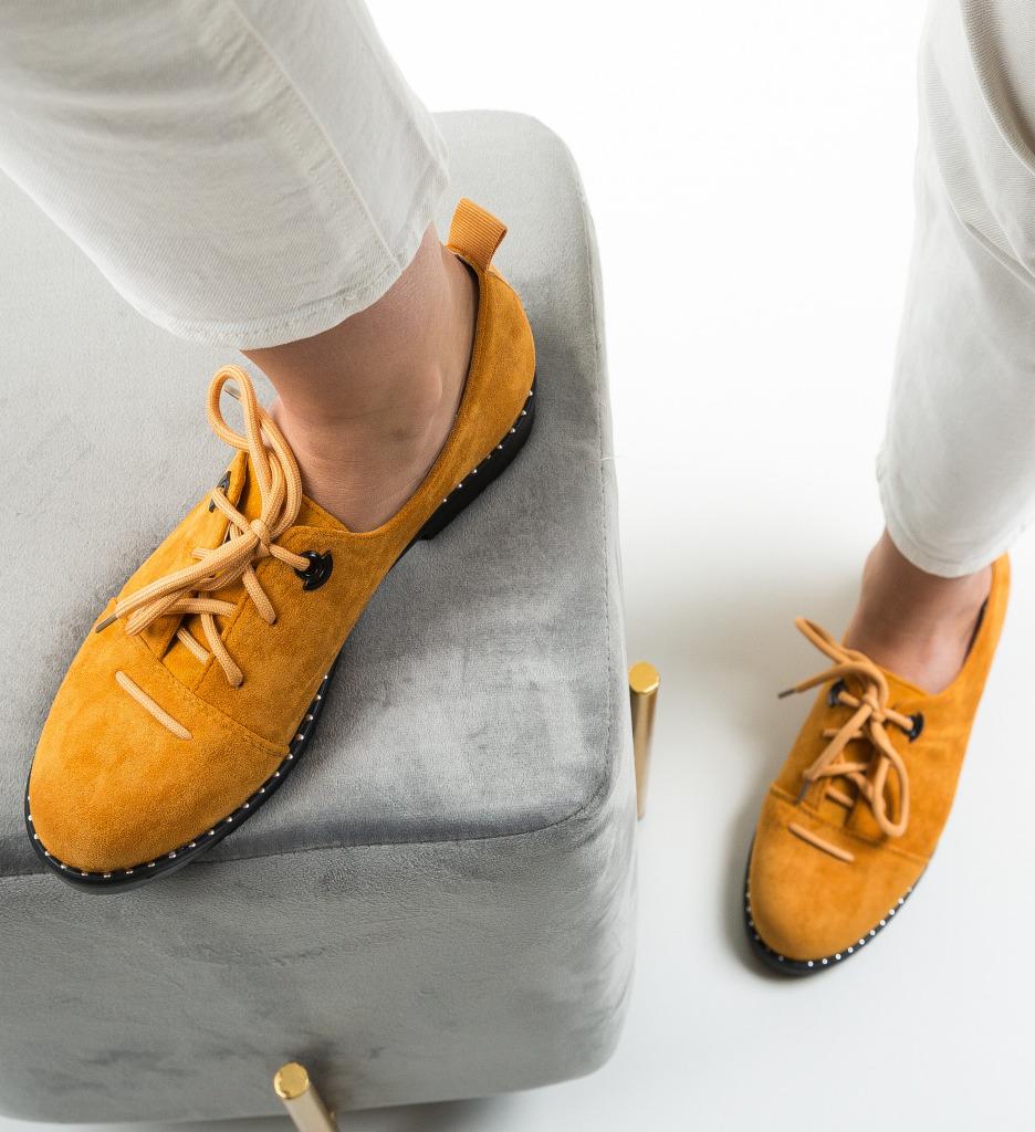 Pantofi Casual Riggs Galbeni