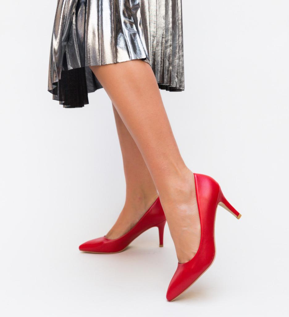 Pantofi Cheloo Rosii