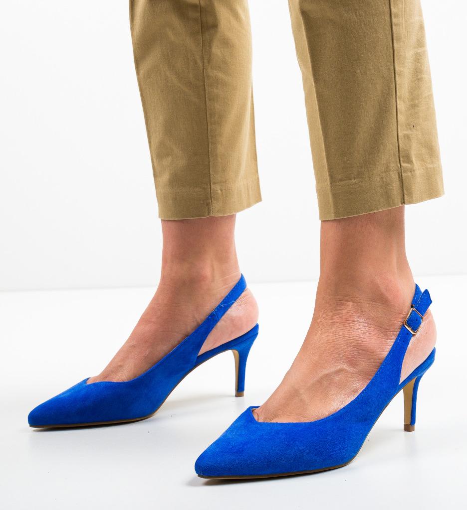 Pantofi Chyna Albastri