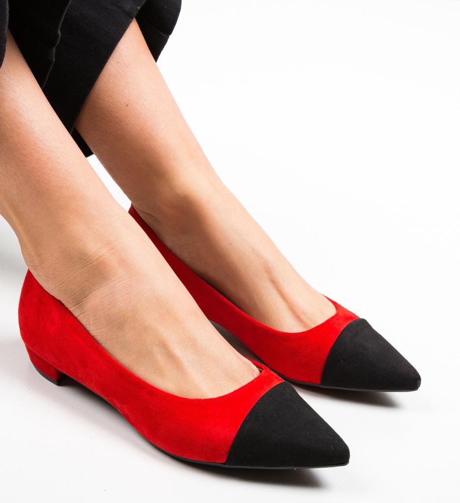 Pantofi Cohe Rosii