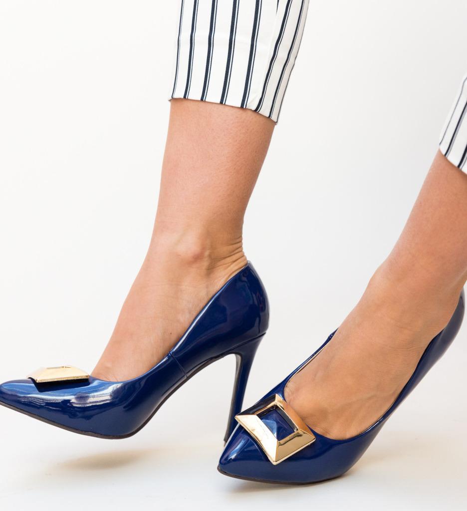 Pantofi Combs Albastri imagine 2021