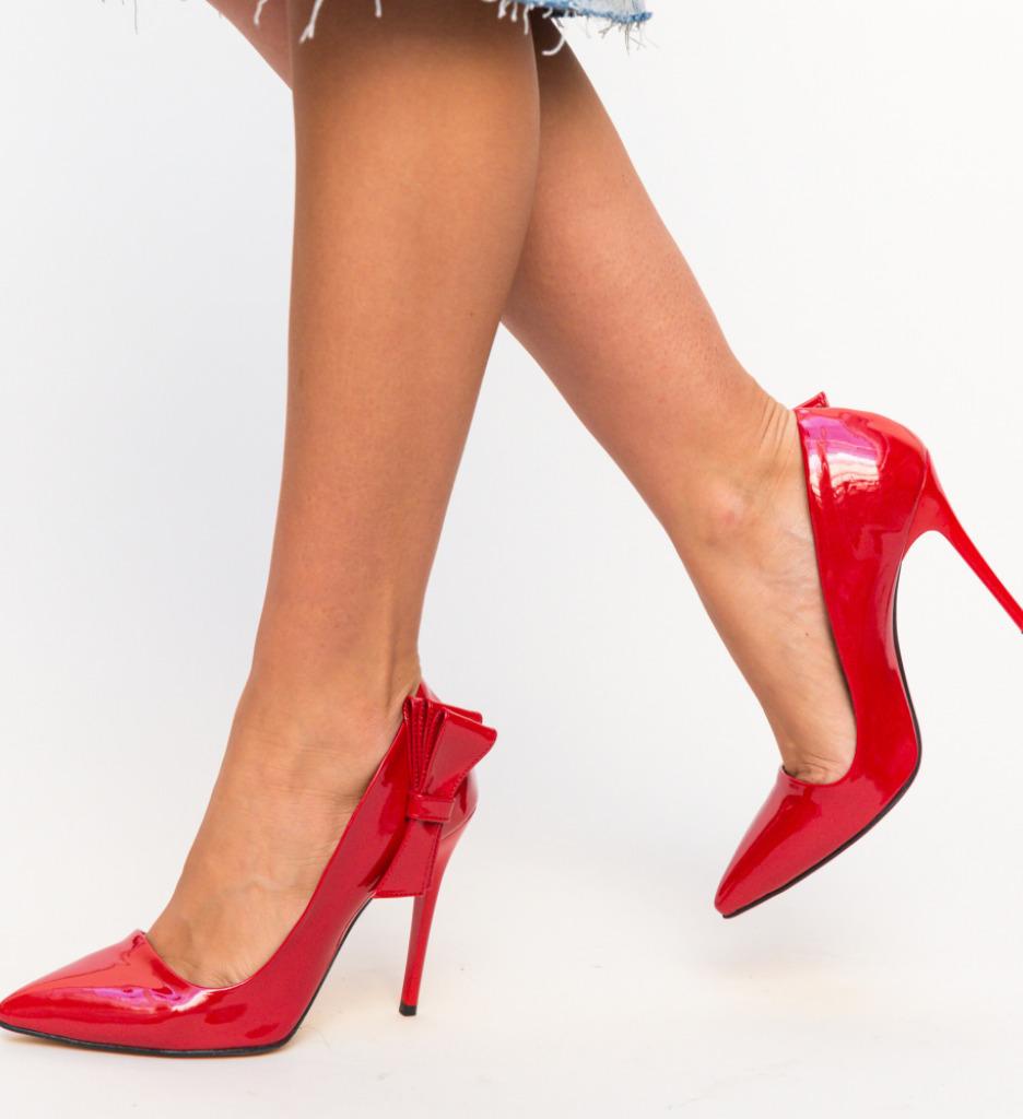 Pantofi Frigid Rosii