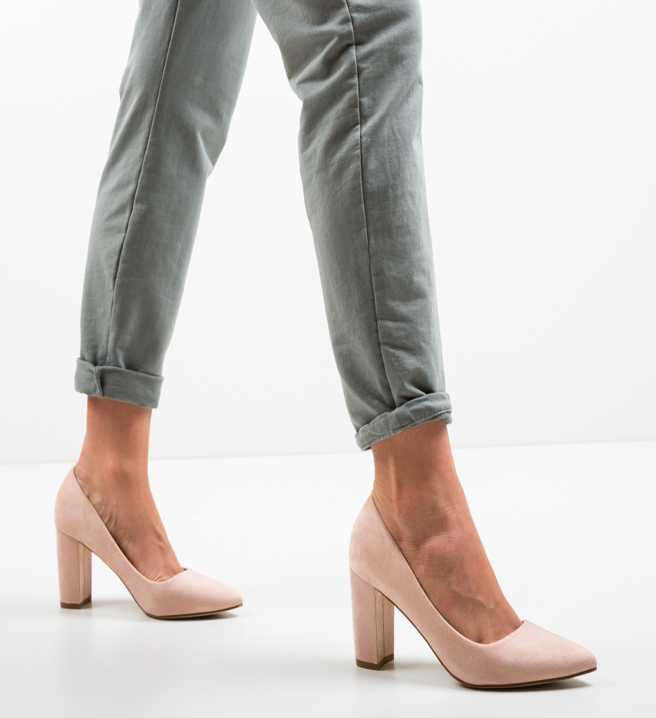 Pantofi Genta Bej