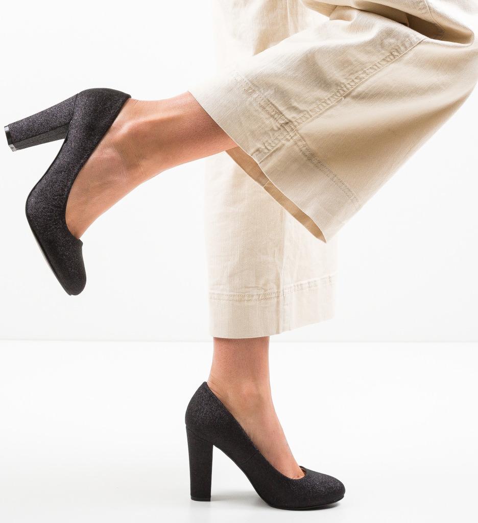 Pantofi Hekolora Negri