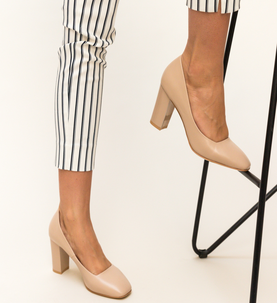 Pantofi Horton Bej