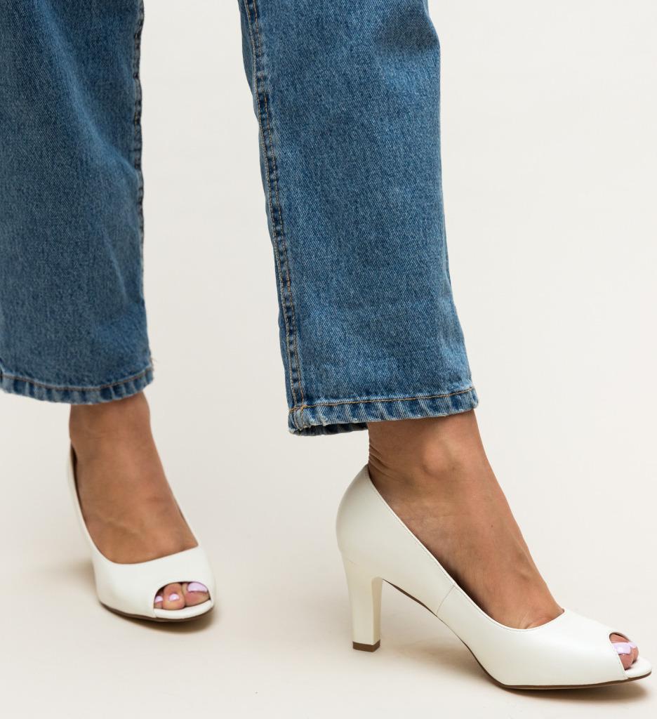 Pantofi Kofi Albi