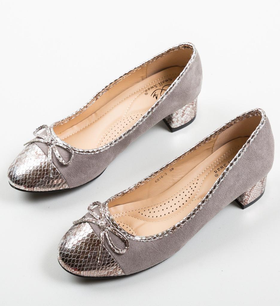 Pantofi Mans Gri