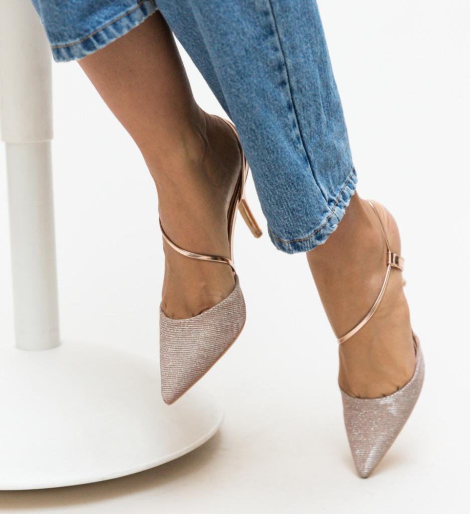 Pantofi Markin Aurii