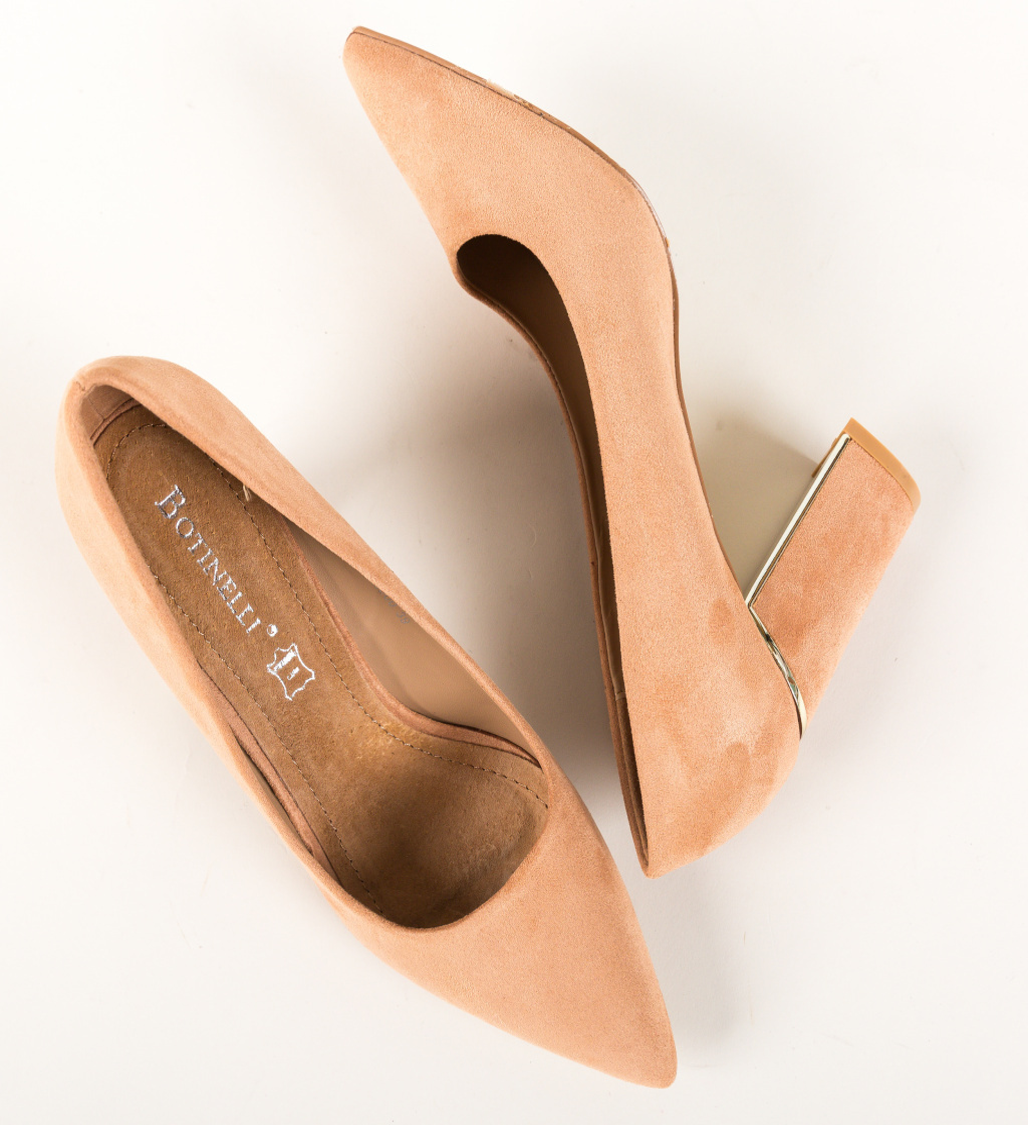 Pantofi Mikono Bej