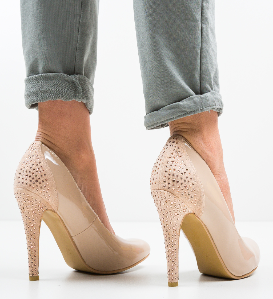 Pantofi Moropo Bej