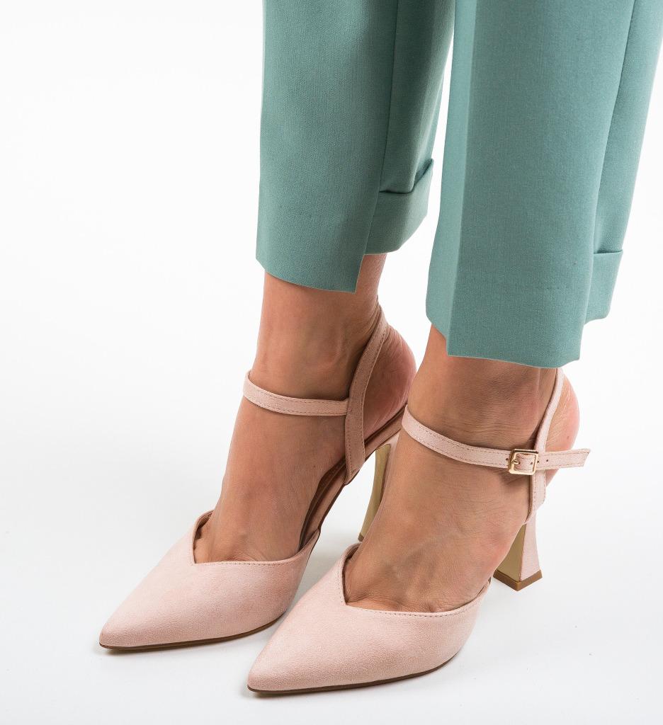 Pantofi Neroc Bej
