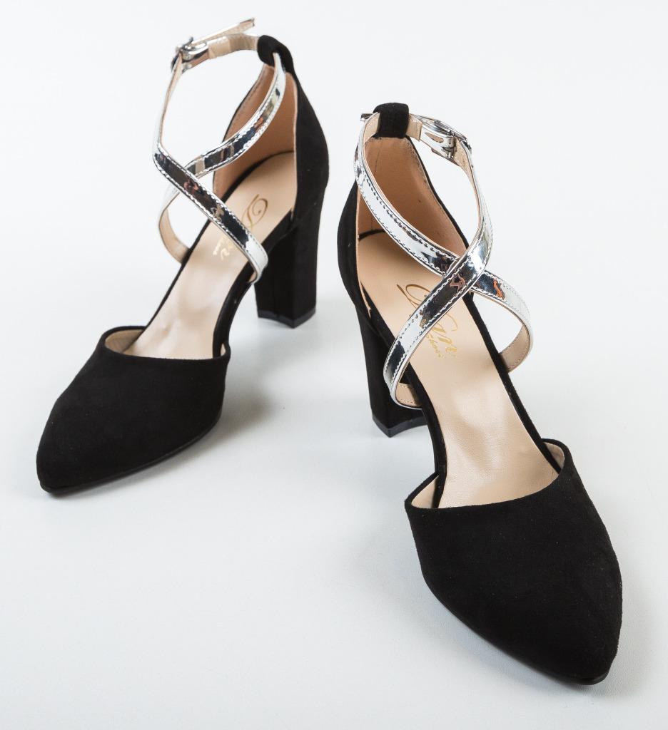 Pantofi Pandini Negri