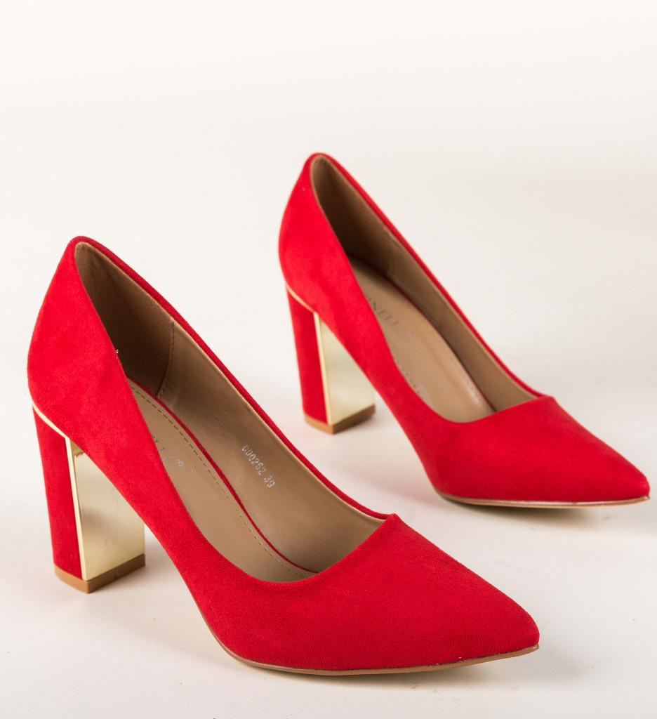 Pantofi Peonix Rosii